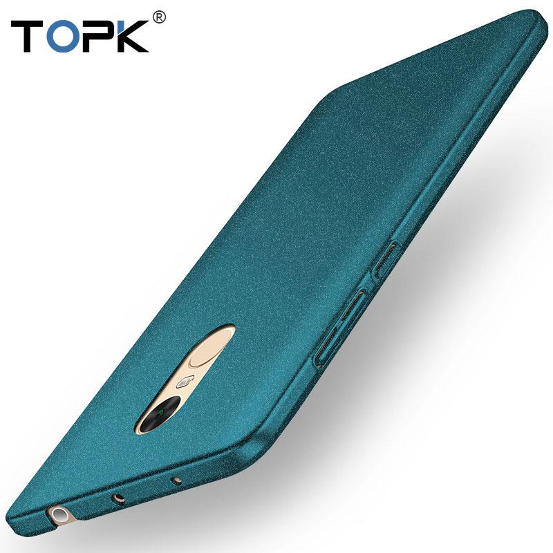 Xiaomi Redmi Note 4 Case, TOPK [Smooth Series] Shockproof Dustproof Slim Matte Hard Phone Case for Xiaomi Redmi Note 4