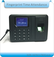 Free Shipping Biometric Fingerprint Time Clock Recorder Attendance Employee Digital Electronic Portuguese English Voice
