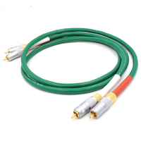 Free shipping Mclntosh 2328 Pure Copper HiFi Audio cable RCA interconnect cable with Nakamichi RCA plug