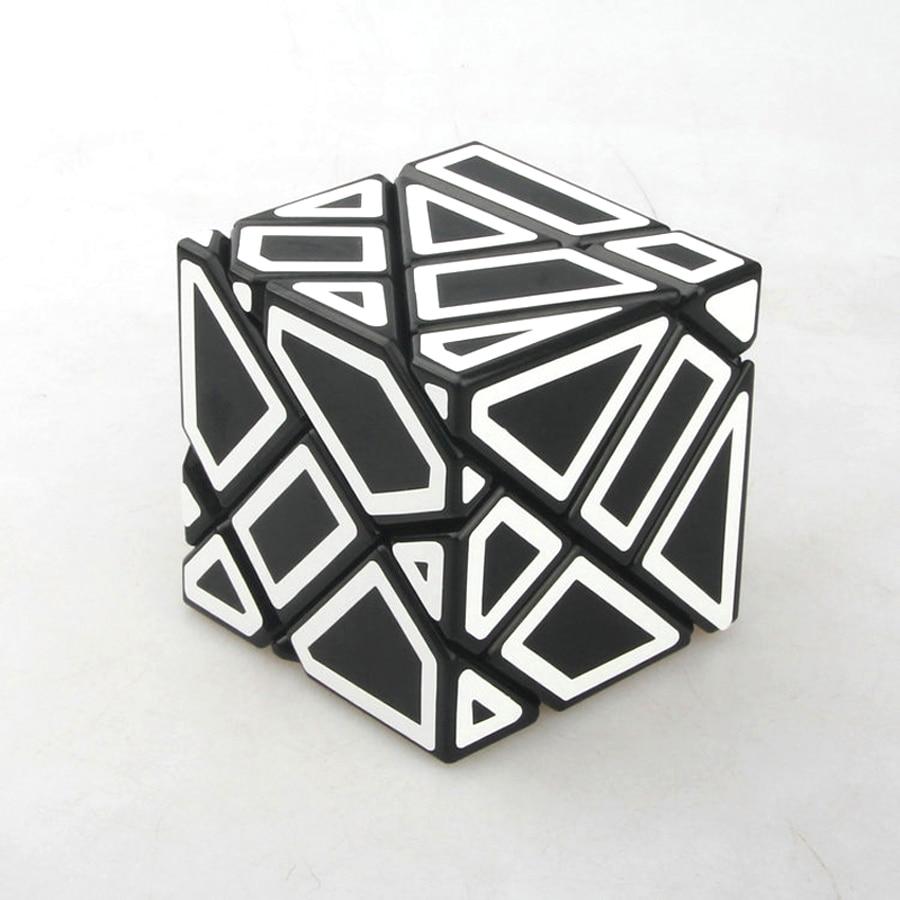 En plastique Transparent Magic Cube Puzzle 3x3x3 Fantôme Cube Brinquedo Menino Jeux Éducatifs Rompecabezas Jouets Pour Enfants 60D0665