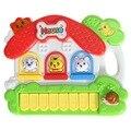 Crianças bebê Animal da Fazenda Piano de Brinquedo Instrumento Musical Brinquedo Musical Brinquedo Educativo para As Crianças Do Bebê de Som Brinquedo do Miúdo FCI #