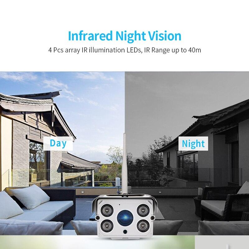 Sricam SH027 Outdoor 2.0MP Wifi IP Kamera 5X Zoom 1080P Drahtlose ONVIF CCTV Kamera Wasserdichte Sicherheit Video Überwachung Kamera