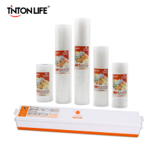 TINTON LIFE вакуумный упаковщик продуктов с 5 рулонами вакуумный упаковщик мешок(12X500 см, 15X500 см, 20X500 см, 25X500 см, 28X500 см