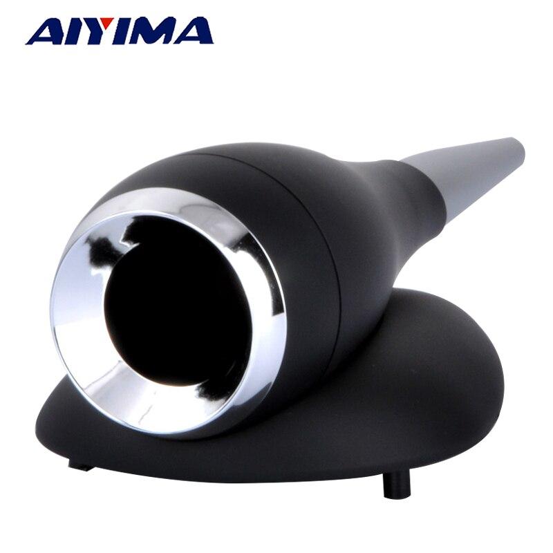 AIYIMA Alto-falantes Portáteis de Áudio 25 Core Caracol Som Cavidade Agudos Falante HIFI DIY Shell Tweeter Agudos Externo