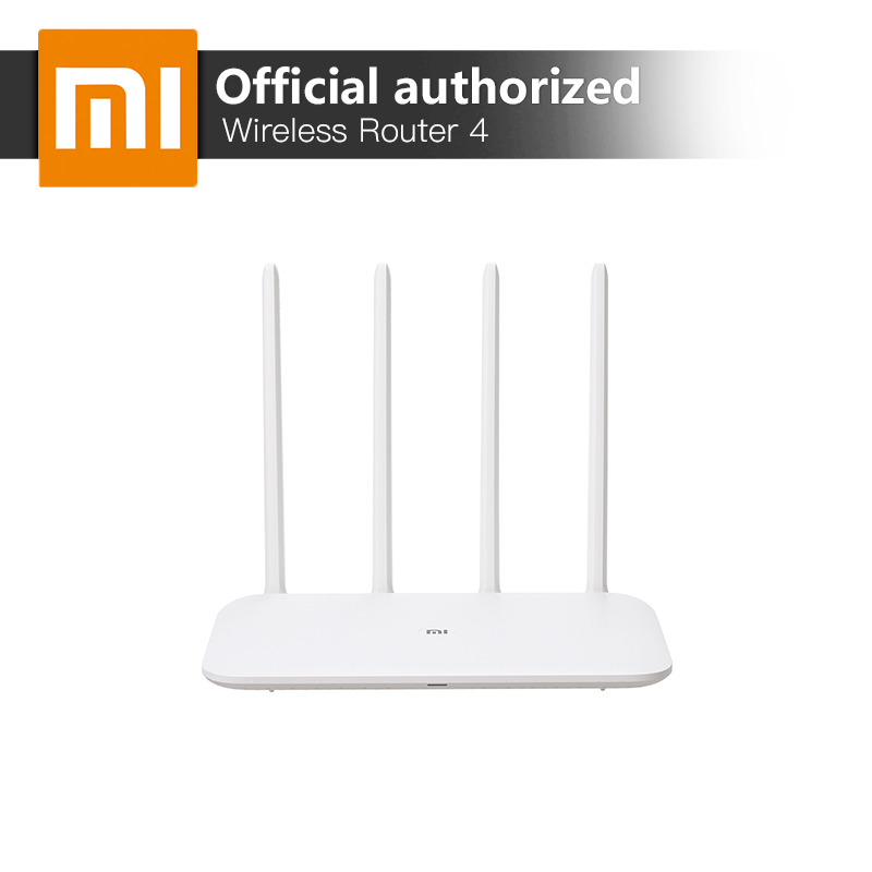 Xiaomi Mi Wifi Router 4 High-Speed Dual Band 2.4G 5GHz 128MB DDR3 Original Wireless Router Xiaomi App Control 4 Antennas