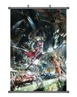 Cloud Strife Sephiroth Final Fantasy VII 7 Home Decor Japan Poster Wall Scroll F
