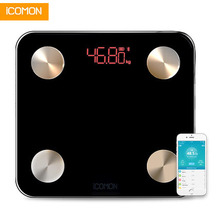 180kg 25 Body Data Smart Scales Bathroom Weighing Floor Scale Household Fat Percentage Moisture Content Weight Scale PK Xiaomi