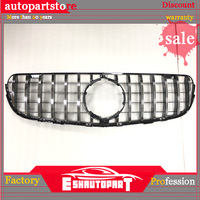 Auto Grille Racing Grills For Mercedes Benz CLC Class X253 CLC COUPE GLC63 GLC All Car 2015 2018 High Quality ABS AMG Style