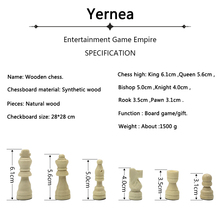 High-quality Wood Chess Game Set