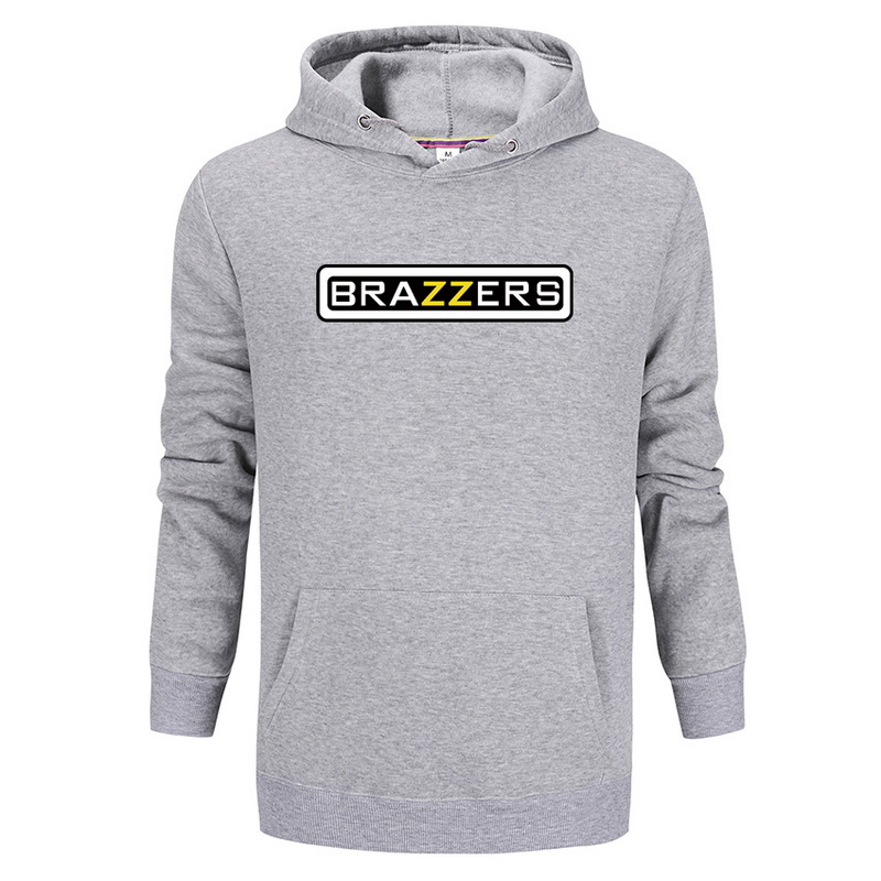 Man/women BRAZZERS print Sportswear Hoodies male Hip Hop Fleece Long Sleeve Hoodie Fit Sweatshirt Hoodies for men