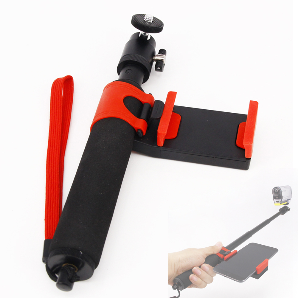 HDR-AS100V AS200V AS30V AS15V AZ1 FDR-X1000V Extended Monopod for Sony Action Cam Remote accessories