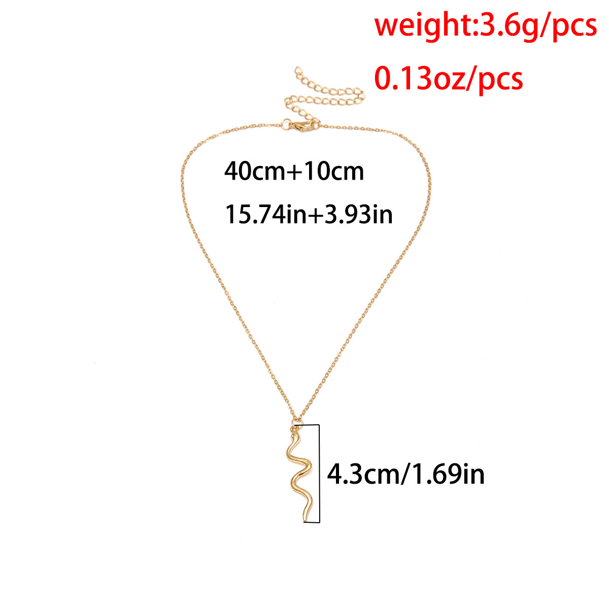 2019 Minimalist Snake Pendant Necklace for Women Elegant Geometric Charm Gold Silver Collar Chain Necklace Fashion Jewelry in Pendant Necklaces from Jewelry Accessories