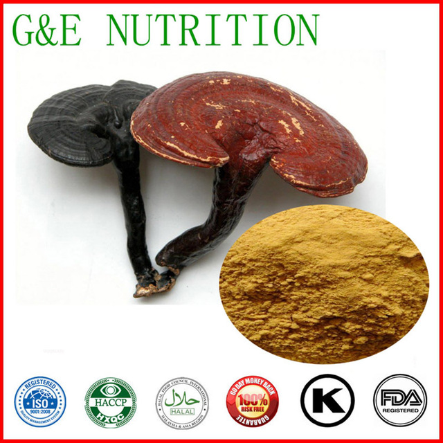 2015 best sale Ganoderma lucidum Extract/Reishi Mushroom Extract powder Polysaccharides 10%-40% low price100g