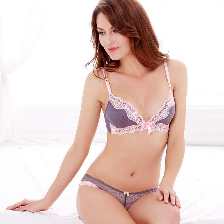 Free Shipping New Sweet Women's Cute Underwear Bras G ...
