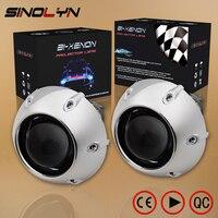 SINOLYN Car Styling Retrofit Mini 2 5 Inch HID Bixenon Projector Headlight Lens Automobiles Headlamp Lenses