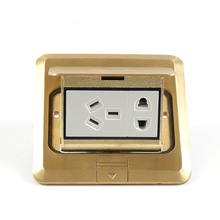 NEW waterproof Floor socket/floor plug/gold socket Five holes