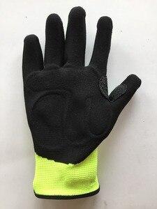 Image 4 - Schokabsorberende Mechanica Anti Trillingen Olie Gas Veld Veiligheid Impact Proof Slip Werkhandschoenen