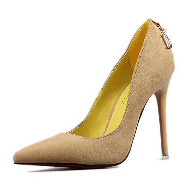 Shoes Women High Heels Fashion Women Pumps Sexy Wedding Shoes Pumps Pointed Toe