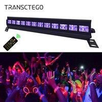 Lila LED Par Schwarzlicht UV Disco DJ Licht Laser Bühne Licht 6/9/12LED Bar für Party Club halloween Weihnachten Wall Washer Lampe-in Bühnen-Lichteffekt aus Licht & Beleuchtung bei