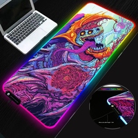 SOVAWIN Mouse Pads 800x300 Gaming Mousepad rgb led Light csgo Rubber Mouse Mat Overwatch Lock Edge XL for Computer Laptop