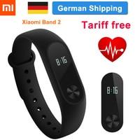 New Original Xiaomi Mi Band 2 In Stock Smart Wristband Bracelet Band2 IP67 OLED Screen Step