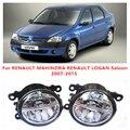 Para RENAULT MAHINDRA RENAULT LOGAN Saloon 2007-2015 10 W luz de niebla LED DRL Daytime Running Lights coche que labra lámparas
