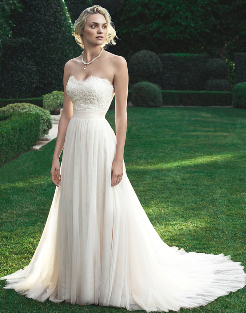 Cheap casablanca wedding dresses