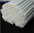 Wholesale Diy handmade construction  ABS Round pipe tube diameter 6mm length 50cm ABS circular plastic tube,  model-making