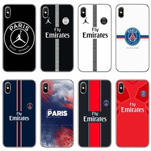535c74da204 PSG Paris Football Jersey For Xiaomi Mi 8 SE Pro 6 6X A1 A2 Lite 5 5s 5x  note mix max 2 2s 3 case Soft phone cover cases