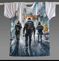 Tom Clancy's The Division Agent T-Shirt Round Neck Leisure customize T Shirt