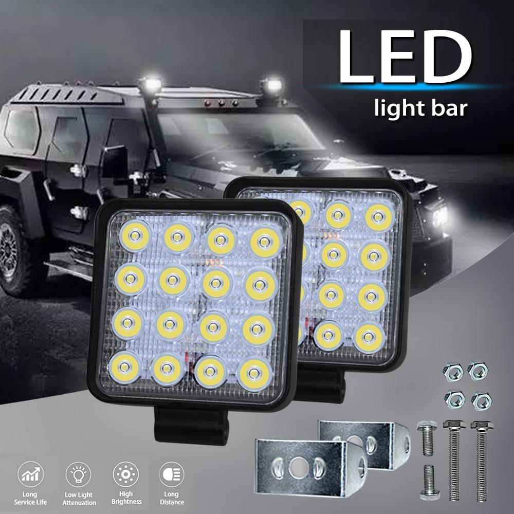13INCH 36W CREE LED WORK LIGHT BAR SPOT OFFROAD LAMP 4WD BOAT ATV DRIVING SUV