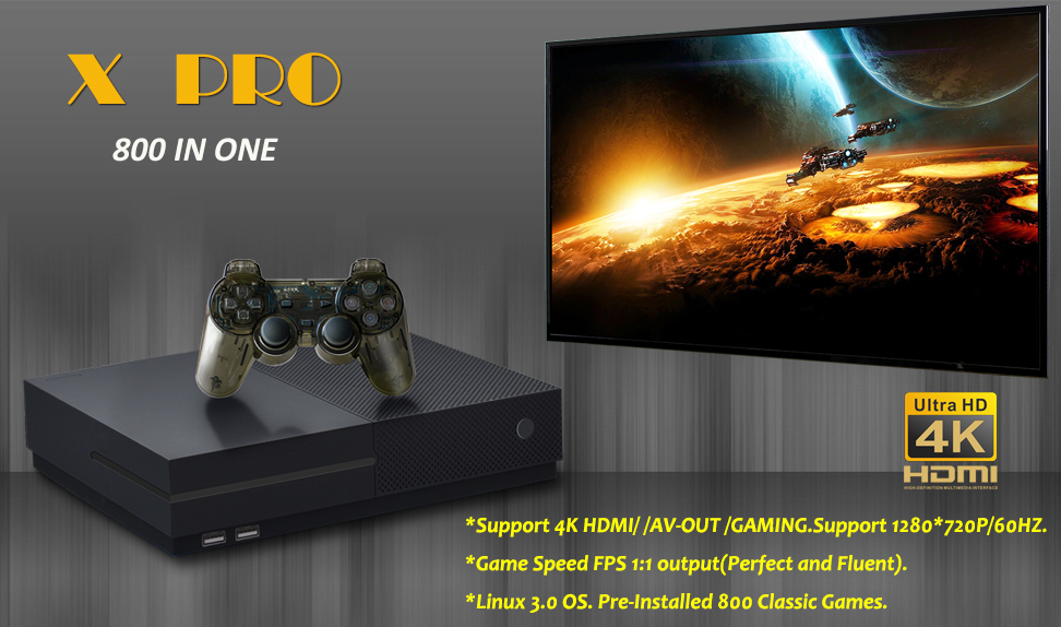 Updated 64 Bit Support 4K Hdmi Output Video Game Console Retro 800 Classic Family Video Games Consol for PS1GBANESSFCGBCSMS 1