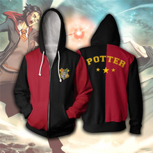 3D Printed Hoodie Wizardry Unisex Men Hoodies Clothes Streetwear Harajuku Ravenclaw Gryffindor Hufflepuff Slytherin