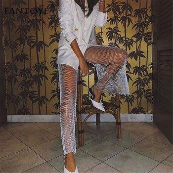 Diamond Fishnet Pants 4