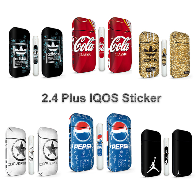 US $1 67 11% OFF|Aliexpress com : Buy 17 Colors 2 4 IQOS 3M Skin Marval  Cartoon Print IQOS Sticker from Reliable Mobile Phone Stickers suppliers on