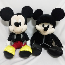 NEW 30cm High Quality Kingdom Hearts figure mickey mouse plush toy stuffed toys doll A birthday present for your child