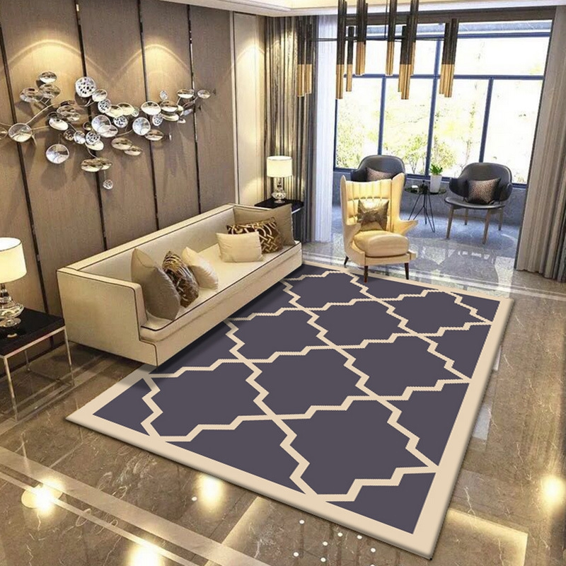 European Style Geometric Carpets For Living Room Bedroom Home Decor Floor Mats Tapete Coffee Table Area Rugs Play Delicate Mat