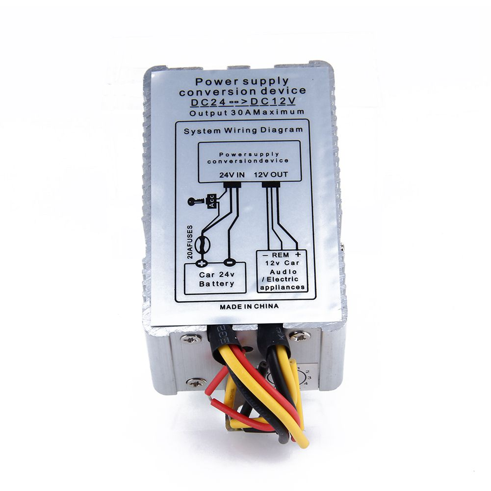 yiyelang dc 24v dc 12v 5a truck adapter power converter transformer in transformers from home improvement on aliexpress com alibaba group [ 1001 x 1001 Pixel ]