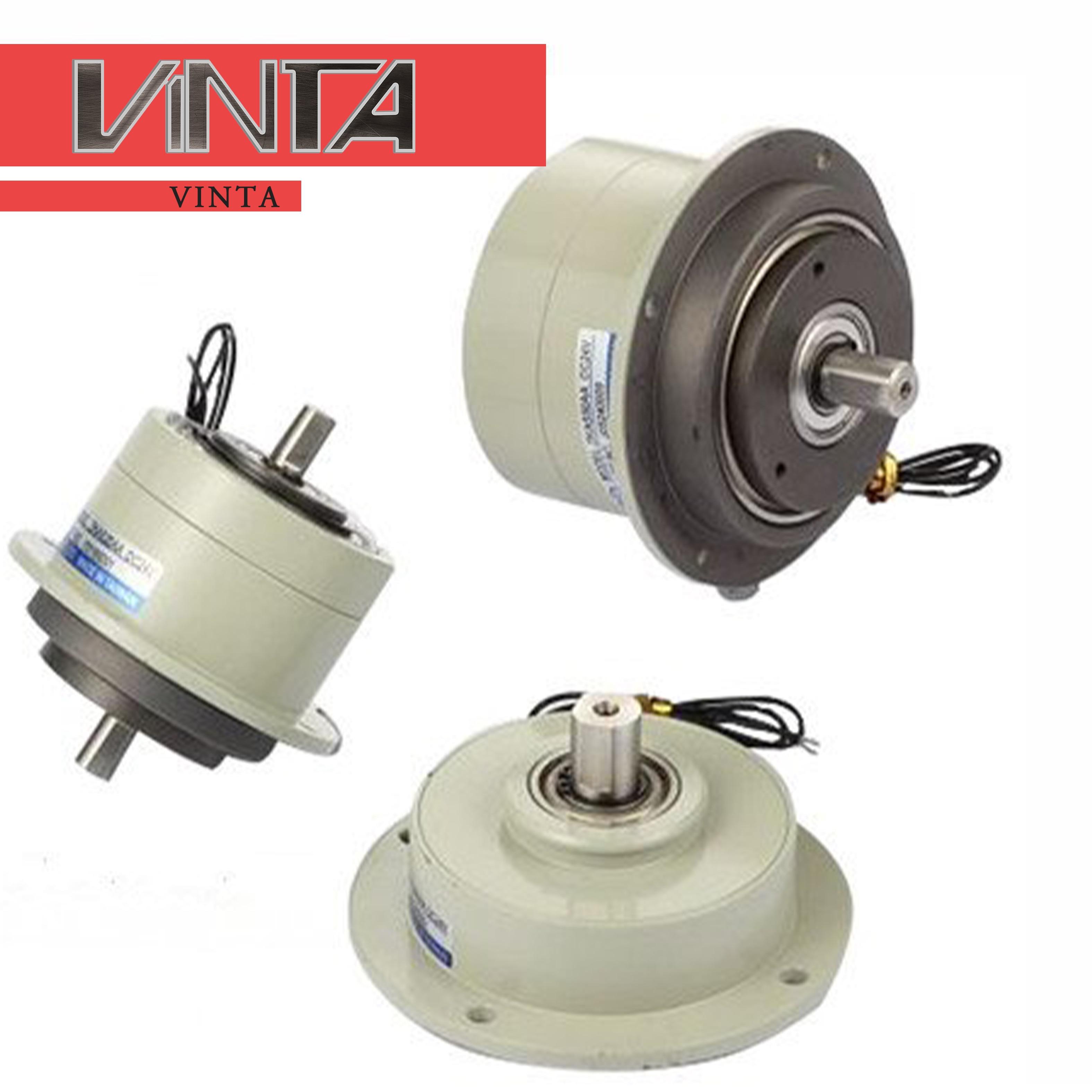 Livraison gratuite Micro embrayage à particules magnétiques PMC double arbres frein à poudre magnétique deux contrôleur de Tension d'embrayage électrique