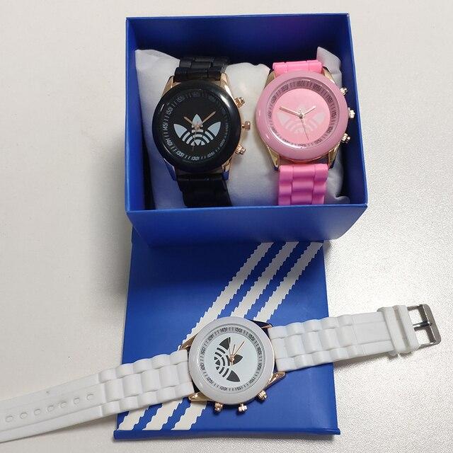 Reloj Mujer Men famous brand women sports watch casual fashion silicone dress watches women quartz wristwatches Zegarek Damski