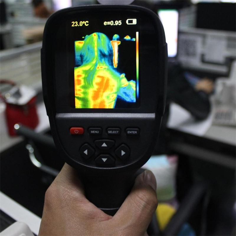 HT 18 3 2 Infrared Temperature Heat IR Digital Thermal Imager Detector Camera with storage 20
