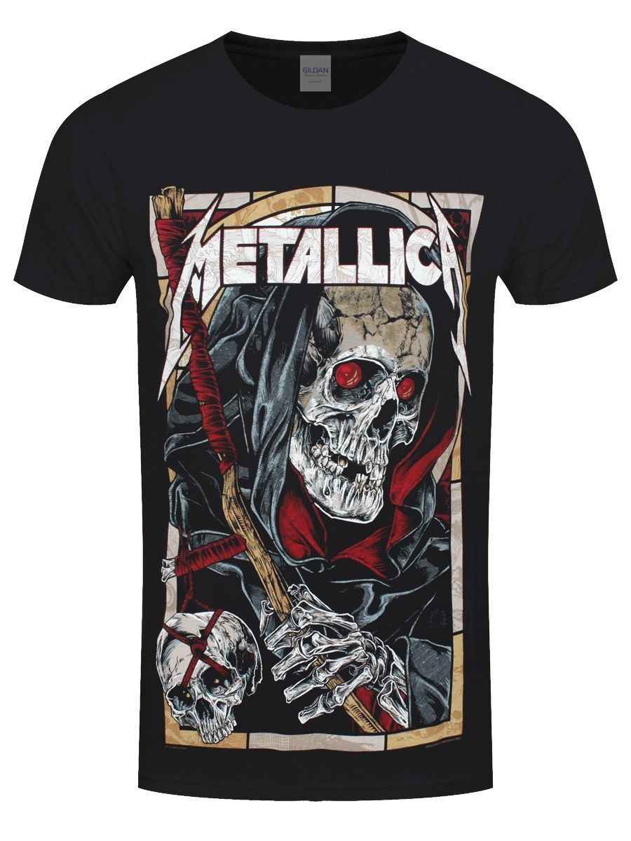 3ec1630536 Detail Feedback Questions about Metallica Death Reaper Men s Black T ...