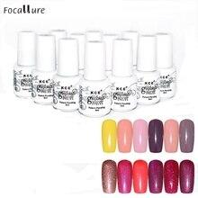 Hot Popular Nail Gel Polish UV LED Shining Colorful 12 Colors 5ML Oct 21