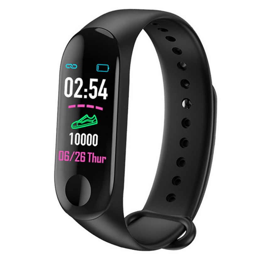 Banda inteligente barata reloj Step HR Fitness Tracker pulsera Smartband para IOS/Xiaomi/Honor VS mi Band 3/4 no Xiomi