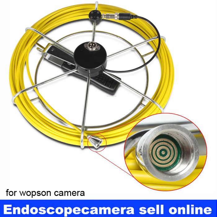 50M Replacement Cable Under Water Sewer Drain Pipe Wall Inspection Camera For Wopson Camera