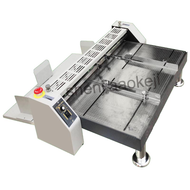 Digital electric creasing machine automatic indentation machines electric pressure dotted line high-speed creasing machine 1pc цена