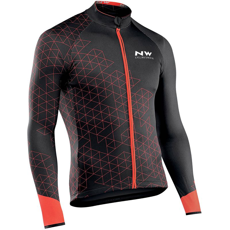 NW 2019 Cycling Jersey Long Sleeve Ropa Ciclismo Team Autumn Bike Clothing Bicycle Shirt Maillot MTB Clothes Jacket Northwave 2017 maillot cycling jersey mtb bike clothing men bicycle clothes ropa de ciclismo cycle short sleeve shirt bicycle bike apparel