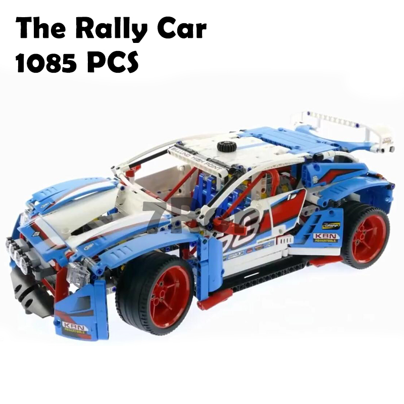 Compatible With lego Technic Rally Car 42077 Model building toys hobbies 20077 Genuine 1085Pcs Blocks Bricks Educational Gifts shirly new rest stop dream house building blocks compatible with lego bricks girl s educational toys birthday christmas gifts