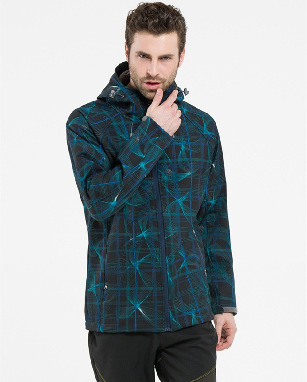 Men jacket jackets fishing new hiking outdoor sport camping softshell jacket thermal windproof autumn and waterproof