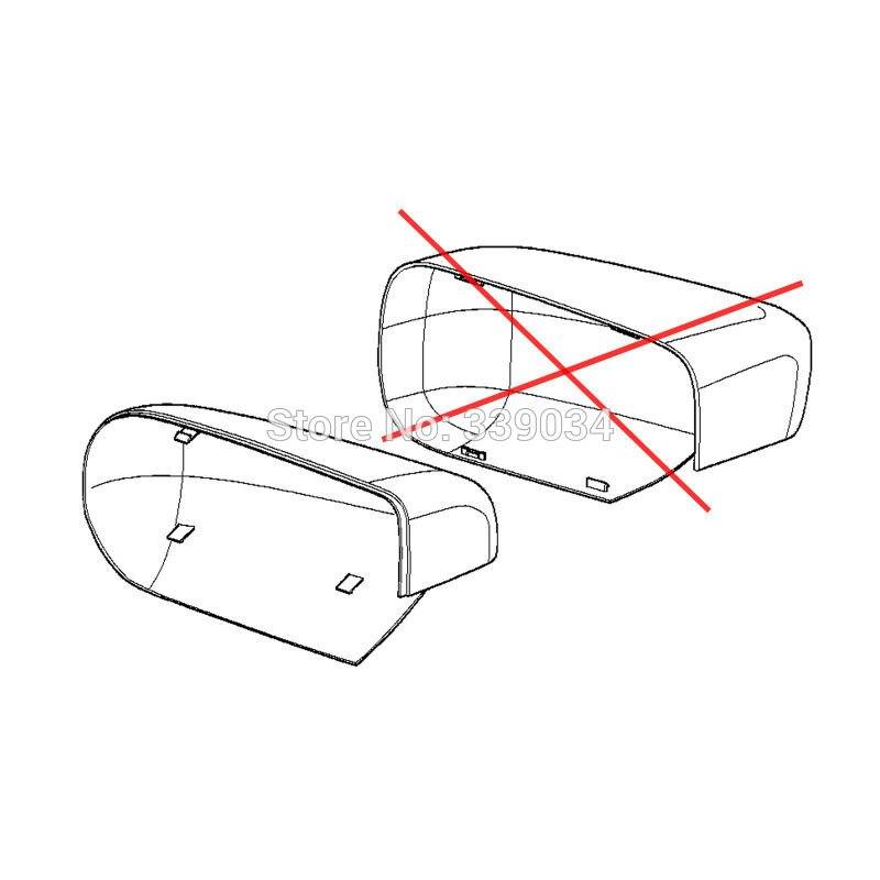 For Bmw E39 530 540i E38 730d 735i 740i 750i Left Mirror Cover Ref